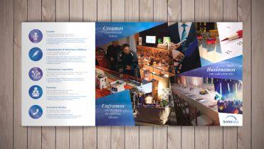 Maquetación de folletos, trípticos, catálogos…
